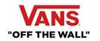 Купоны и промокоды на скидку Vans